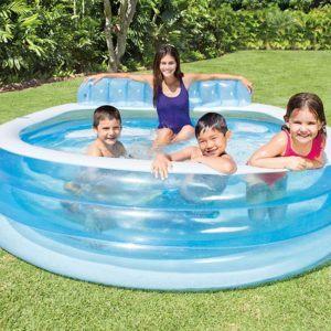 Comment fonctionne une piscine gonflable?