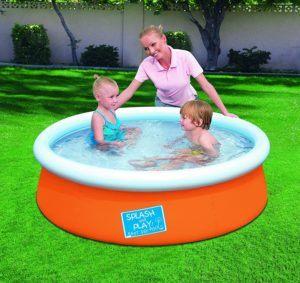 Où acheter la piscine gonflable exactement ?