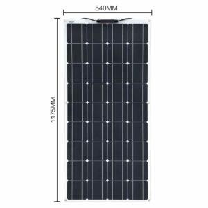 Informations sur le panneau solaire XINPUGUANG 200W 12V