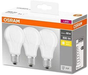 Quels sont les types d'ampoules led ?