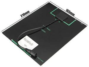Description des panneaux photovoltaïques hybrides