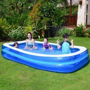 Caractéristiques de la piscine gonflable autoportante