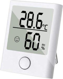 SINZON Mini Thermomètre/Hygromètre Intérieur