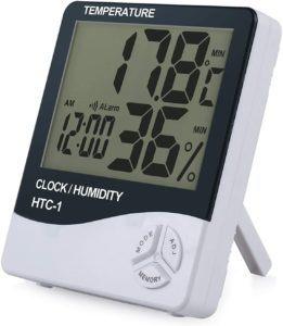 eSynic Thermomètre Numérique Intérieur