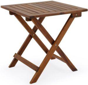Exemple de table pliante