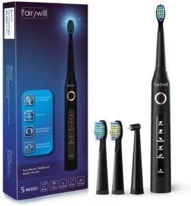 Exemples de brosse à dent électrique