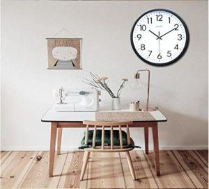 Quelles sont les caractéristiques de l'horloge FunRun Silencieuse ?