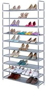 Un meuble à chaussures à étagères dans un comparatif gagnant