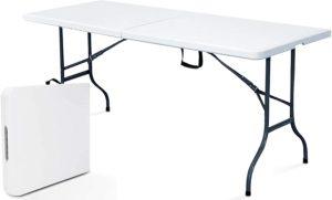 Comment est testée la table pliante ?