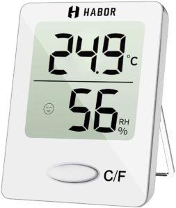 Thermomètre d'intérieur Habor