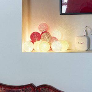 Le types du guirlandes lumineuses intérieures simples