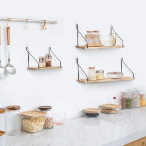 Testés le matériau de fabrication des étagères