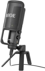 Description d'un microphone électrostatique