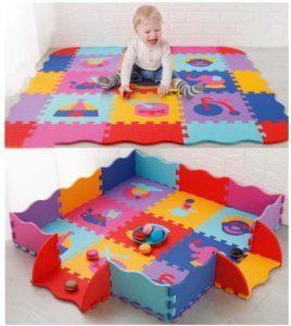 Qu'est-ce qu'un tapis de salle de jeux pour enfants ?