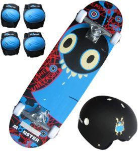 Découvrir le Charles Bentley Kit Skateboard Monster