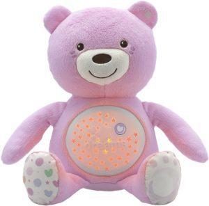 Évaluation de la veilleuse enfant Chicco Ourson projecteur Baby Bear dans un comparatif