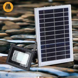 Quelques déficiences des lampes solaires extérieures