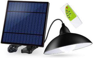 Quel est le design de lampe solaire extérieure ?