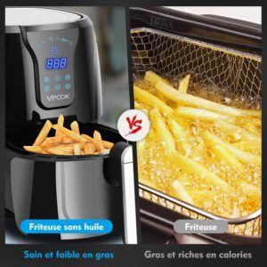 Quels sont les alternatives à la friteuse sans huile?