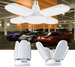 Description de l'éclairage de garage Gezee à LED 60W
