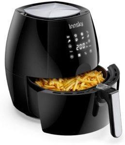 Exemple de friteuse sans huile