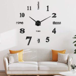 Type d'horloge muraux