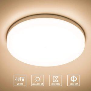 Quels types de plafonniers LED existe-t-il ?