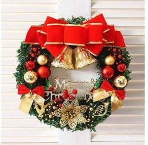 Ungfu Mall Couronne de Noël