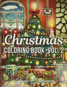 Tout savoir sur le Christmas Coloring Book, Jade Summer