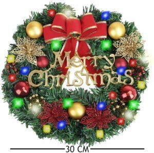 La couronne de Noël JoyPlay