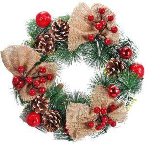 La couronne de Noël XHXSTORE