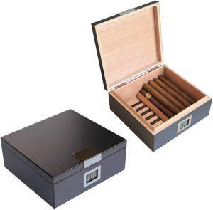Différents types de cave à cigares