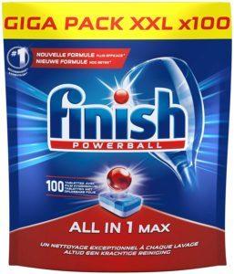 Comment évaluer la pastille lave-vaisselle Finish All in 1 Max ?