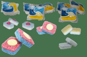 Quels types de pastilles lave-vaisselle existe-t-il?