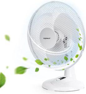 Evaluation du ventilateur de bureau Aigostar Louis 33JTN dans un comparatif