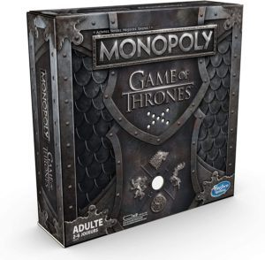 Descriptif du jeu de stratégie Monopoly - Game of Thrones Edition Collector dans un comparatif