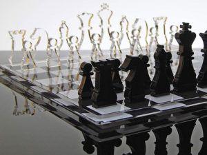 Notes sur les jeux d'échecs dans un comparatif