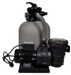 La pompe à filtre à sable