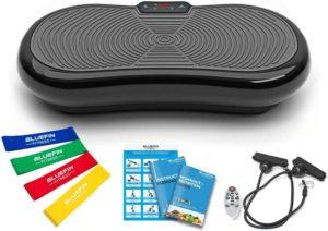 Descriptif de la plateforme vibrante Bluefin Fitness Ultra Slim dans un comparatif