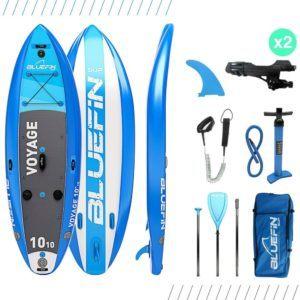Fonctionnalités du paddle gonflable Bluefin Stand Sup
