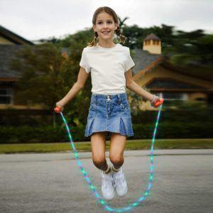 Une corde à sauter lumineuse dans un comparatif gagnant