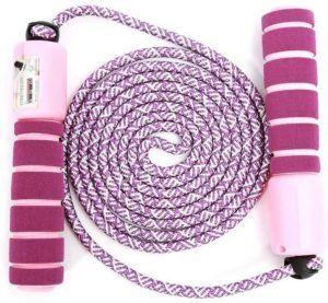 La longueur d'une corde à sauter dans un comparatif