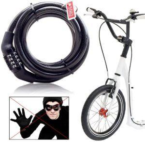 Évaluation d'antivol vélo Master Lock Câble antivol