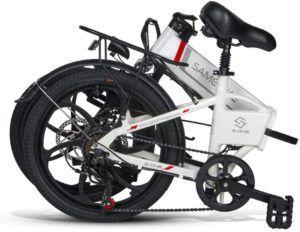 Détermination de la taille du vélo pliable