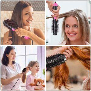 Testés la brosse soufflante pour la nature des cheveux pour