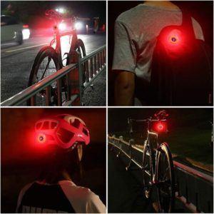 Évaluation du double feu arrière de vélo FISCHER