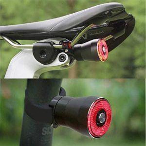 Les différents types de feu arrière de vélo avec éclairage LED