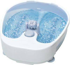 Un masseur avec eau dans un comparatif