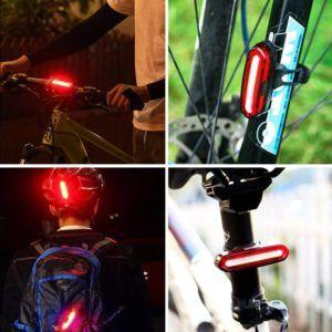 Comment sont testés les feux arrière de vélo ?