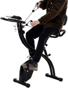 Finalité d'un vélo d'appartement pliable interactif